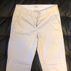 J.Crew casual pants size 00 skinny Cream